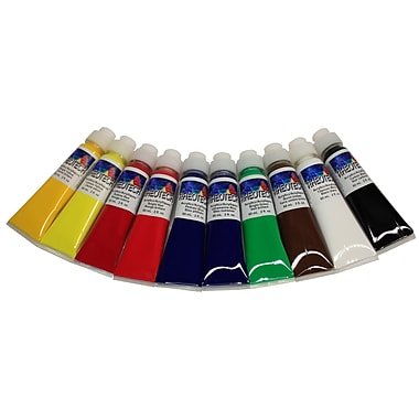 Rheotech Acrylic Paint Set for Academic Artists, 10 x 60mL