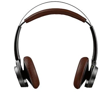Backbeat Sense – Casque sans fil avec micro, noir/brun