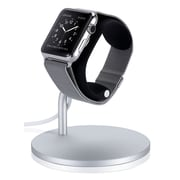 LoungeDock – Support de recharge pour montre Apple, argenté