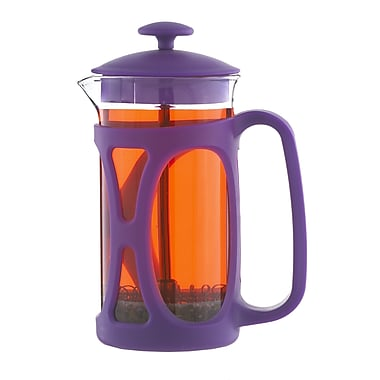 Grosche Basel French Press Coffee Maker, Purple, 350ml