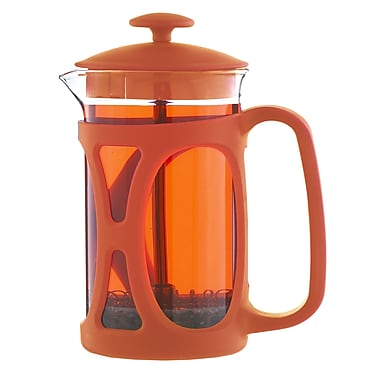Grosche – Cafetière à piston Basel, orange, 800 ml