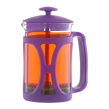 Grosche – Cafetière à piston Basel, violet, 800 ml