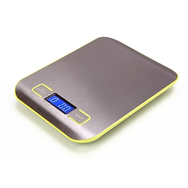 Zweissen Aprilia Digital Kitchen Scale, Green, 11lb