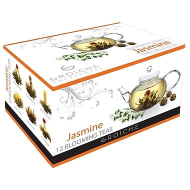 Grosche – Thé fleurissant au jasmin, 12 sachets/paquet