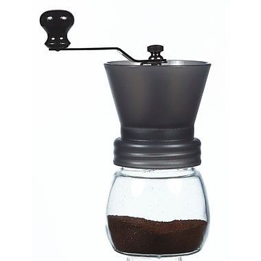 Grosche Bremen Manual Ceramic Burr Coffee Grinder, Black, 100g (GR 283)