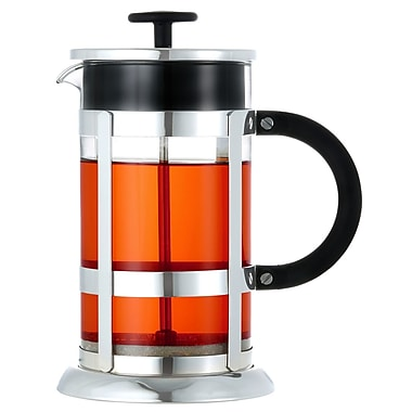Grosche Chrome French Press Coffee Maker, 1 Litre