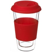 Grosche Glassen Double Walled Travel Mug, 350ml
