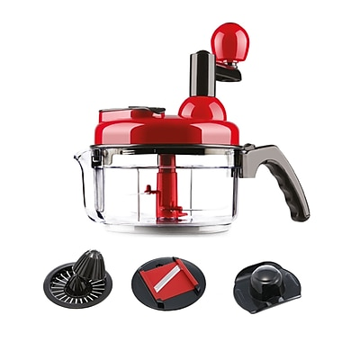 Zweissen Kitchen Multi Set Food Processor, 1 Litre