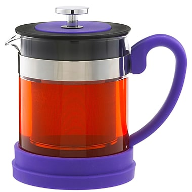 Grosche Valencia Infuser Teapot, Purple, 600ml