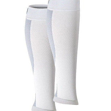 CS6 Compression Calf Sleeve 42341W, White