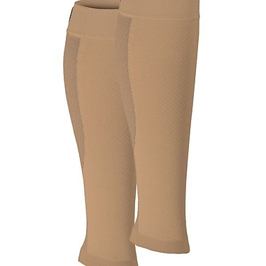 CS6 Compression Calf Sleeve 42341N, Nude, Size Small