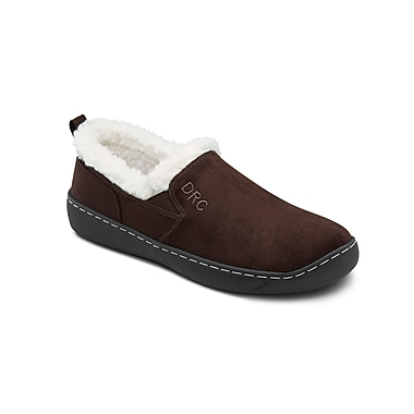 Dr. Comfort Extra-Depth Indoor/Outdoor Slippers with Gel Plus Insert and Non-Skid Outsole 7420, Men, Size 13