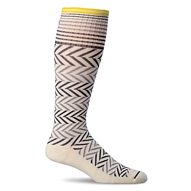 Chevron Women Compression Socks, SW7W-015, Size SM