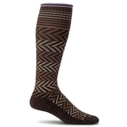 Chevron Women Compression Socks, SW7W-780