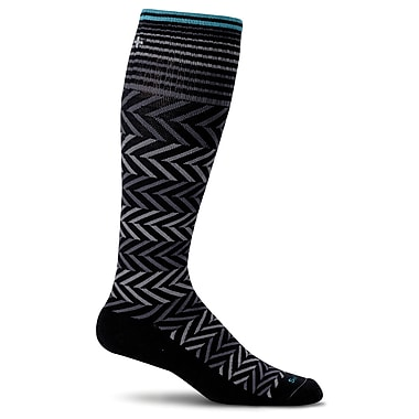 Chevron Women Compression Socks, SW7W-900, Size SM