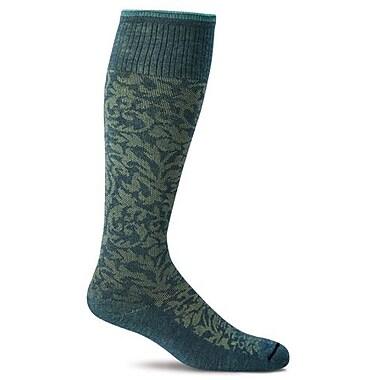 Damask Women Compression Socks, SW16W-480, Size SM