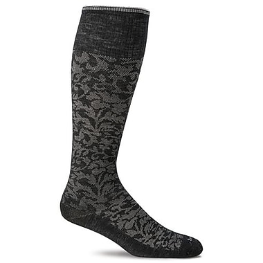 Damask Women Compression Socks, SW16W-900, Size ML