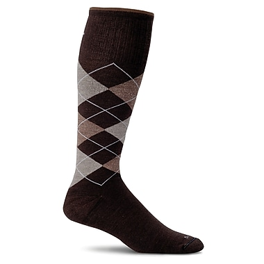 Argyle Male Compression Socks, SW3M-780, Size ML