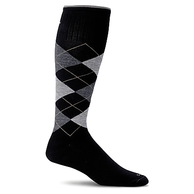 Argyle Male Compression Socks, SW3M-900, Size ML