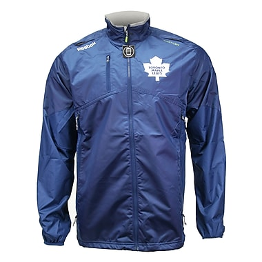 Reebok Center Ice Rink Jacket, Toronto Maple Leafs, Medium