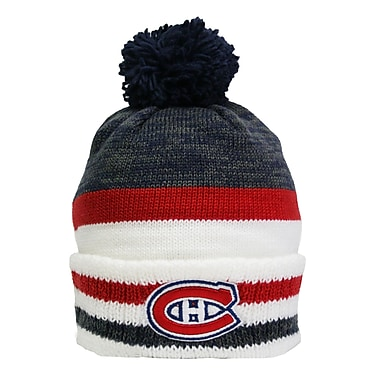 Reebok Center Ice Team Pom Knit Toque, Montreal Canadiens