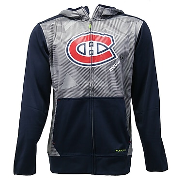 Reebok Center Ice TNT Full Zip Hood, Montreal Canadiens, X Large