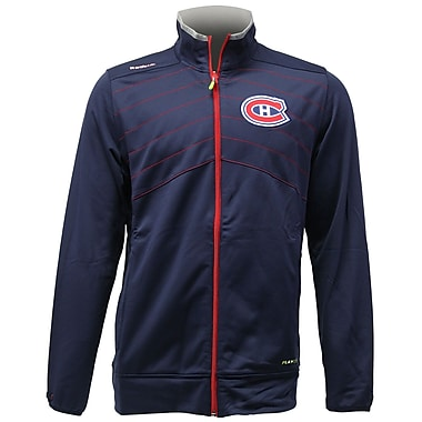 Reebok Center Ice Warm Up Jacket, Montreal Canadiens, Small
