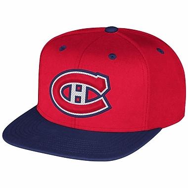 Reebok Multi Color Flat Brim Snapback Cap, Montreal Canadiens
