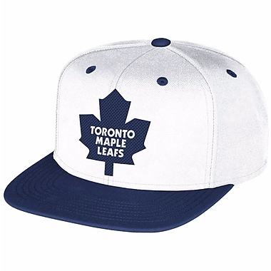 Reebok Multi Color Flat Brim Snapback Cap, Toronto Maple Leafs