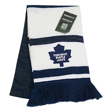 Reebok Center Ice Jacquard Scarf, Toronto Maple Leafs