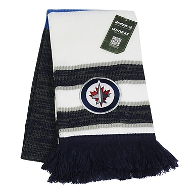 Reebok Center Ice Jacquard Scarf, Winnipeg Jets