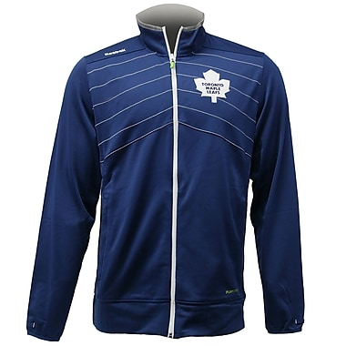 Reebok Center Ice Warm Up Jacket, Toronto Maple Leafs, Medium