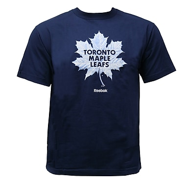 Reebok Face-Off High End Mascot Tee, Toronto Maple Leafs, Medium