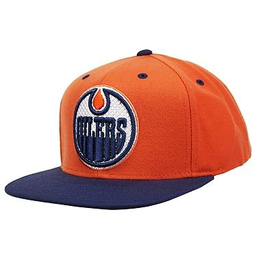 Reebok Multi Color Flat Brim Snapback Cap, Edmonton Oilers