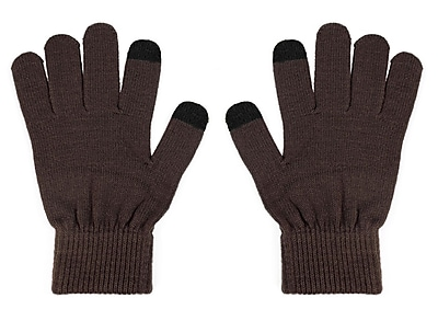 URGE Basics Texting Gloves, Brown