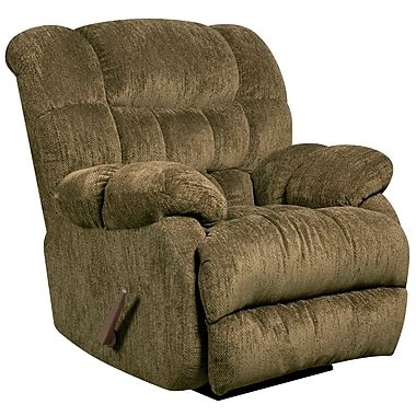 Flash Furniture Contemporary Columbia Microfiber Rocker Recliner, Mushroom (AM94605860)