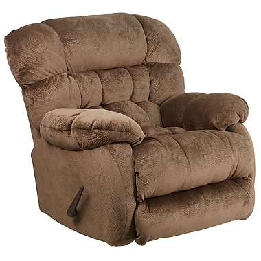 Flash Furniture – Fauteuil berçant inclinable contemporain Sharpei en microfibres couleur expresso (AM94605983)