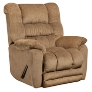 Flash Furniture Contemporary Temptation Microfiber Rocker Recliner, Fawn (AM95606450)