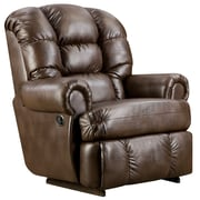 Flash Furniture Big and Tall 350lb-Capacity Loggins Leather Recliner, Espresso (AM99308550)