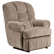 Flash Furniture Big and Tall 350lb-Capacity Microfiber Recliner, Gazette Pewter (AM99309922)