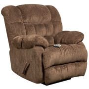 Flash Furniture Massaging Columbia Microfiber Recliner with Heat Control, Mushroom (AMH94605860)