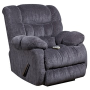 Flash Furniture Massaging Columbia Microfiber Recliner with Heat Control, Indigo Blue (AMH94605861)