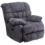 Flash Furniture Contemporary Columbia Microfiber Power Recliner with Push Button, Indigo Blue (AMP94605861)