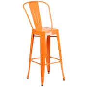 "Flash Furniture 30.25"" High Metal Indoor-Outdoor Barstool (CH3132030GBOR)"
