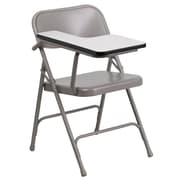 Flash Furniture Premium Steel Folding Chair with Right-Handed Tablet Arm (HF309ASTRT)