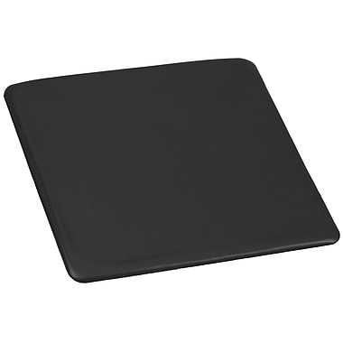 Flash Furniture – Assise de rechange pour chaises pliantes noires et acajou en résine (LIE1BKSEAT)