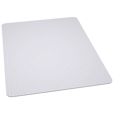 Flash Furniture Furniture 48''x36'' Vinyl Chair Mat for Carpet, Rectangular (MAT121704)