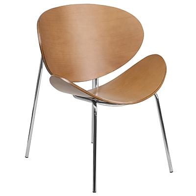 Flash Furniture Bentwood Leisure Reception Chair, Beech (SD22687)