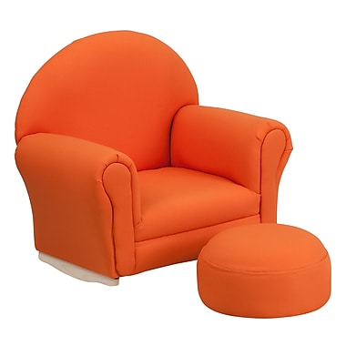 Flash Furniture Wood Sofas, Orange (SF03OTTOORG)