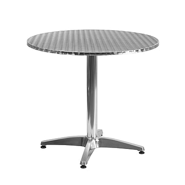 Flash Furniture 31.5'' Round Aluminum Indoor/Outdoor Table with Base (TLH0523)